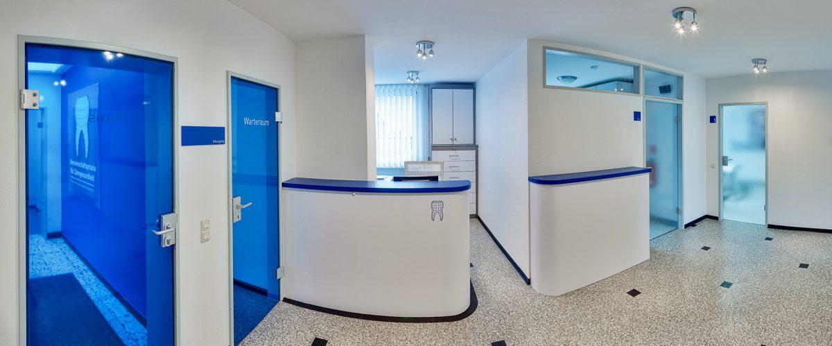 Umbau & Innendesign für Zahnarzt in Aachen