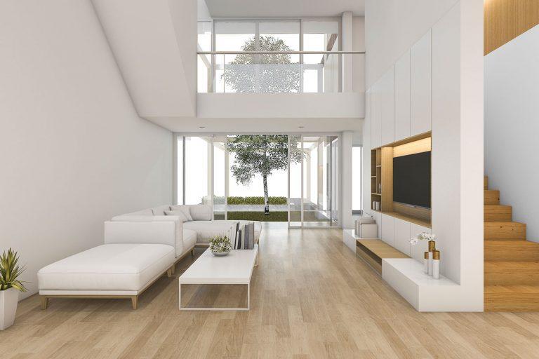 Innendesign Wohnraum Villa