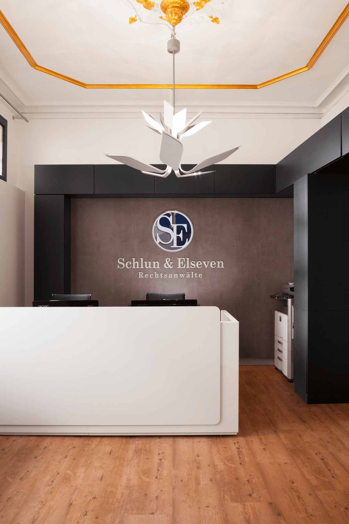 Interior Design: Anwaltskanzlei in Köln