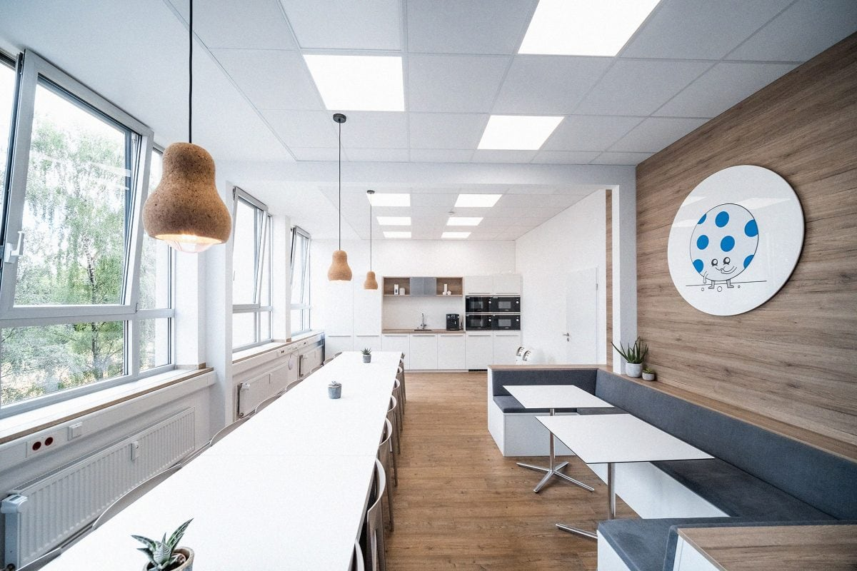 Umbau eines Büros in Aachen in industrieller Umgebung